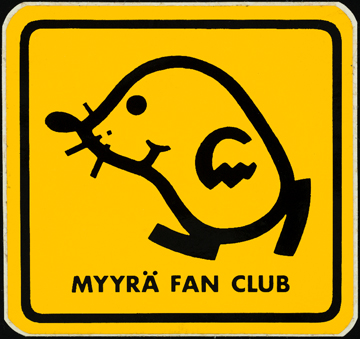Myyrä fan club -tarra